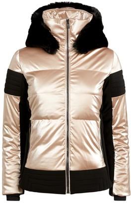 Fusalp Quilted Gardena Rose Ski Jacket