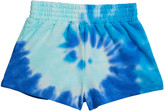 Design History Girls Girl's Tie-Dye French Terry Shorts, Size 6X-6