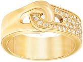 Swarovski Gallon Ring, Gold Tone