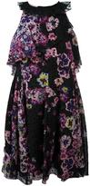 Giamba floral print dress - women - Silk/Polyamide/Polyester/Viscose - 46
