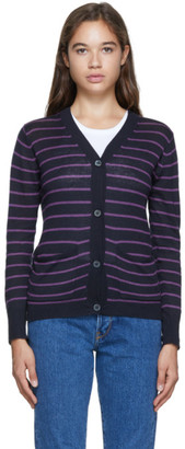 6397 Purple Original Cardigan