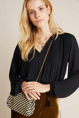 Daniel Rainn Janis Pleated Peasant Blouse