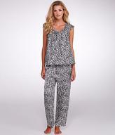 Oscar de la Renta Luxe Charmeuse Pajama Set