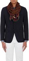 Drakes Drake's Men's Medallion-Print Wool-Silk Scarf
