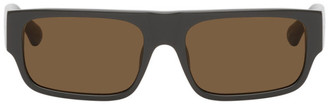 Dries Van Noten Grey Linda Farrow Edition 189 C2 Sunglasses