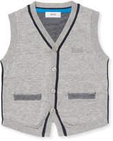 HUGO BOSS V-Neck Cotton Cardigan