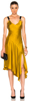 Prabal Gurung Asymmetrical Dress in Yellow.