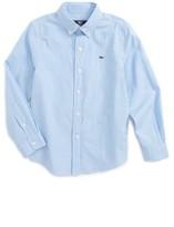 Vineyard Vines Boy's Stowaway Plaid Shirt