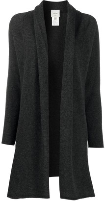 Alysi Cashmere-Merino Blend Knitted Draped Cardigan