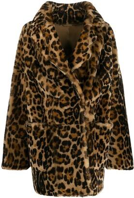 Liska Leopard Effect Coat