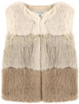 Mayoral Faux fur vest