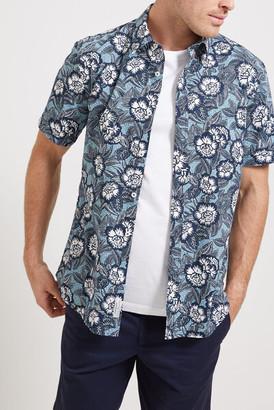 Sportscraft Patrick Short Sleeve Print Shirt