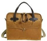 Filson Men's Canvas Tablet Briefcase - Brown