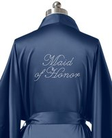 SIORO Personalized Satin Robes Bridal Wedding Party Pajamas Night Gowns for Mother of the Bride, Mist, M