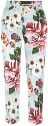Dolce & Gabbana Floral Print Pants