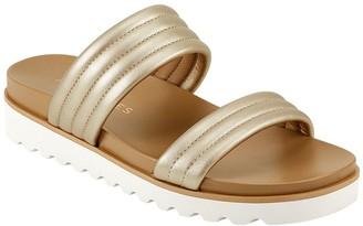 Aerosoles Slip-On Banded Slide Sandals - Kinnelon
