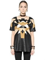 Givenchy Patchwork Nappa Leather Top