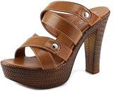 Italian Shoemakers Italian Shoe Makers 5902S6 Women US 8 Brown Platform Heel