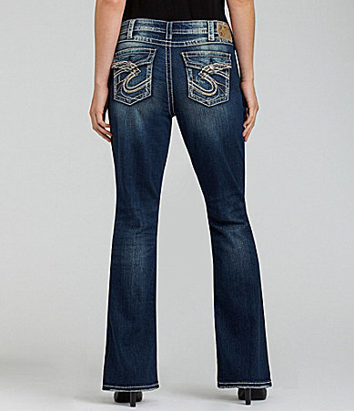 Silver Jeans Co. Plus Pioneer Bootcut Jeans
