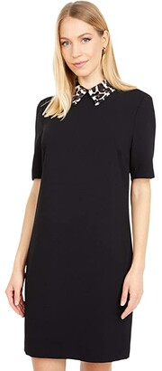 Trina Turk Yokan 2 Dress (Black) Women's Clothing