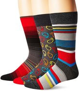 Bugatchi Men's Three-Pack Denali Sock