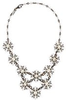 Erickson Beamon Faux Pearl & Crystal Statement Necklace