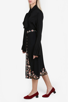 Vilshenko Claire Embroidered Skirt