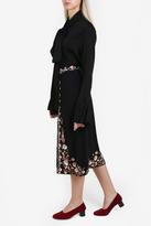 Vilshenko Claire Embroidered Skirt