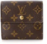 Louis Vuitton Pre-Owned Monogram Coated Canvas Elise Wallet