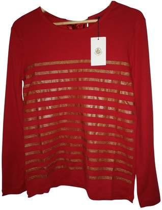 Petit Bateau Burgundy Cotton Knitwear for Women