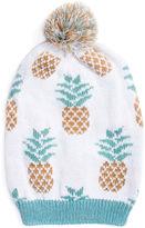 Muk Luks Pineapple Slouch Beanie