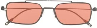 Montblanc Rectangular-Frame Tinted Sunglasses