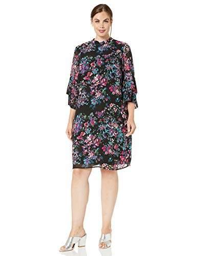 Women\'s Plus Size Chiffon Dress