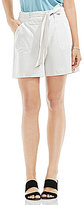 Vince Camuto Self Belt Patch Pocket Shorts