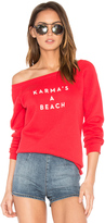 Milly Karmas A Beach Sweatshirt