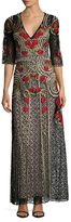 Temperley London Lace Antila Embroidered Gown