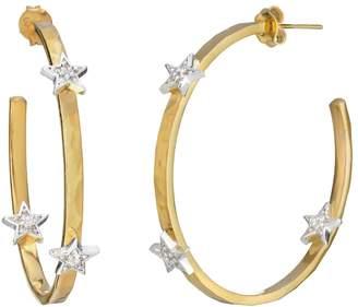 Lucky Star Harry Rocks Hoop Earrings