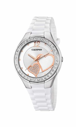 Calypso Women's Analogue Analog Quartz Watch with Plastic Strap K5679/F