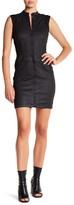 G Star Lynn Sleeveless Front Zip Dress