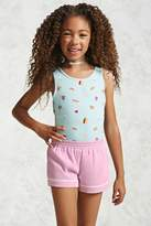 Forever 21 Girls Piped Shorts (Kids)