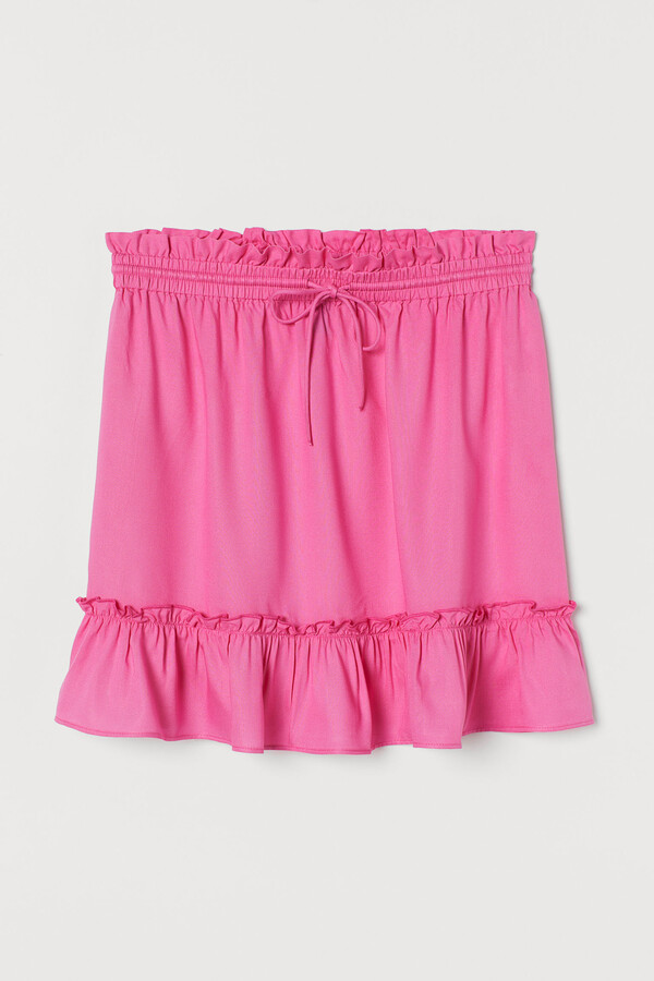 Thumbnail for your product : H&M Short flounced skirt