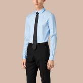 Burberry Slim Fit Button-down Collar Cotton Poplin Shirt
