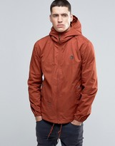 Pretty Green Jacket With Hood In Orange