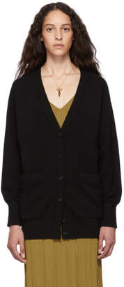 Chloé Black Cashmere Iconic Cardigan