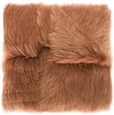 Rochas long haired lamb shearling shawl - women - Lamb Fur - One Size