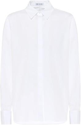 Loro Piana Susan cotton-poplin shirt