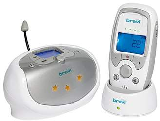 Brevi 382 Eco Dect Baby Monitor Baby Monitor, Silver