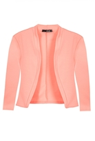 Quiz Coral 3/4 Sleeve Crop Jacket