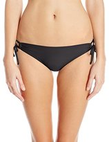 Splendid Women's Avalon Eyelet Tunnel Bikini Bottom