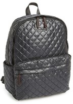 M Z Wallace 'Metro' Quilted Oxford Nylon Backpack - Black